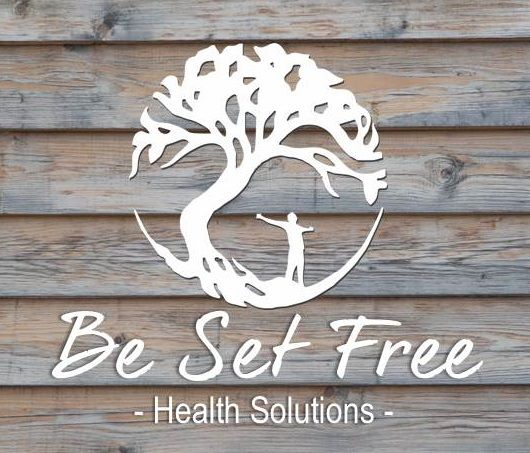 Our logo for Be set Free Health solutions was inspired by the image of the tree of life and the desire for freedom from ill health and stress. Find your freedom body mind and soul.