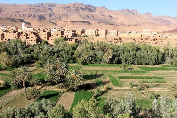 Authentic Morocco Tours, stop along the way to the desert