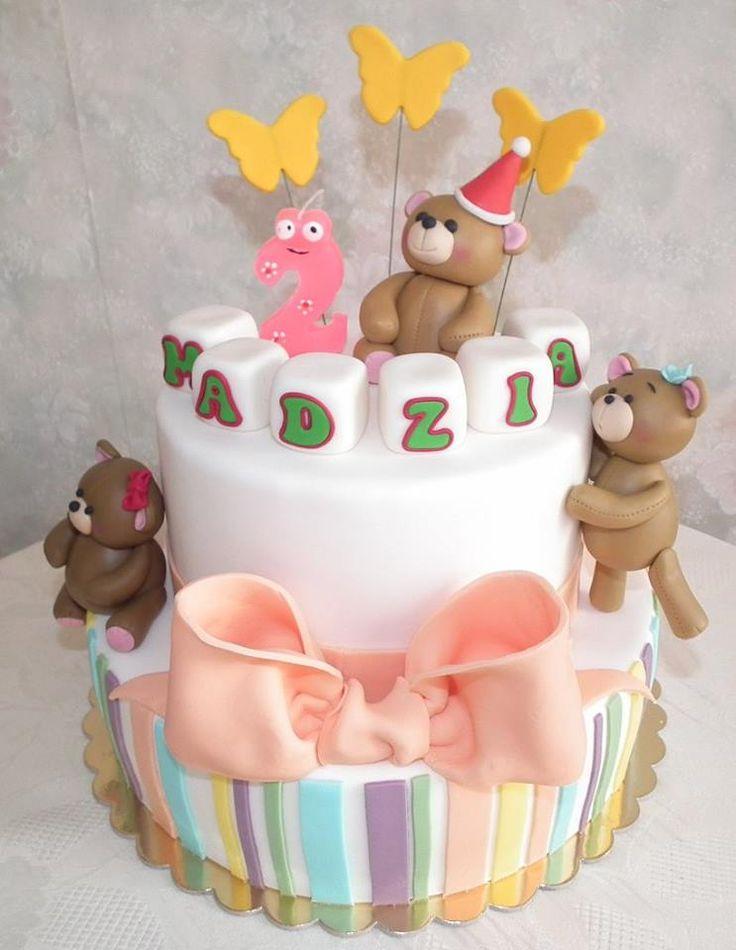 Tort misie/ Teddy bears cake