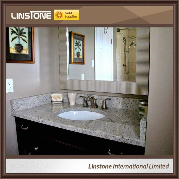 Hot Selling Kashmir White Granite Bathroom Countertop, www.linstone.cn