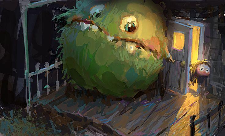 Monster Hunt by MarcoBucci.deviantart.com on @DeviantArt