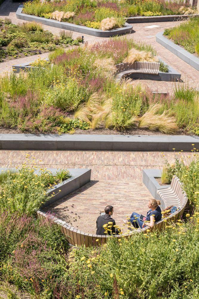 Delfland Water Authority Courtesy Of Mecanoo Architecten Landscapearchitecture Urbane Landschaft Landschaftsplanung Moderne Landschaftsgestaltung