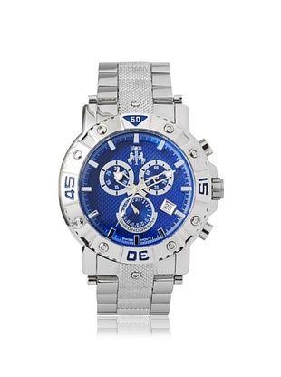 67% OFF Jivago Men's JV9125 Titan Blue Stainless Steel Watch
