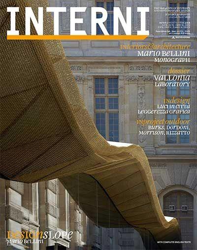 INTERNI MAGAZINE NO623 LUGLIO AGOSTO 2012 WORLDARCHITECTSLIBRARY Onlinelibrary Architectslibrary Interior Design OnlineArchitectural