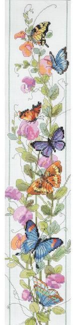 Butterflies - Cross Stitch Patterns & Kits - 123Stitch.com
