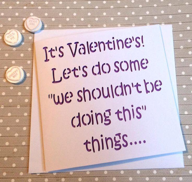 Valentine's card, card for Valentine's, Valentine's Day, boyfriend valentine, rude card, funny valentine, card for friend, rude valentine, by AprilDaysDesigns on Etsy