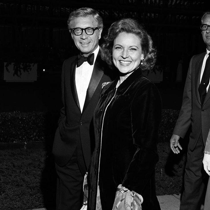 """Allen Ludden and Betty White arriving at Oscars in 1971. The ceremony, hosted by Don Rickles, was dominated by """"Patton"""" which took home seven awards including Best Picture, Director (Franklin Schaffner) and Actor (George C. Scott)."""