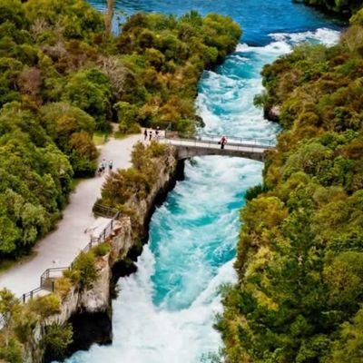 Huka Falls | NZ's Most Visited Natural Attraction | Great Lake Taupo