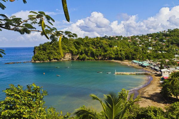 (PHOTO: Orietta Gaspari via Getty Images)   10 Exotic Beach Resorts You  Probably Haven't Heard Of:   Anse la Raye, St Lucia (Go off the beaten track and discover the 'real' St Lucia in the sleepy fishing village of Anse la Raye, where you will find French and English colonial architecture, traditional food such as Creole bread and coconut turnovers, and pretty cascade Anse La Raye Falls.)