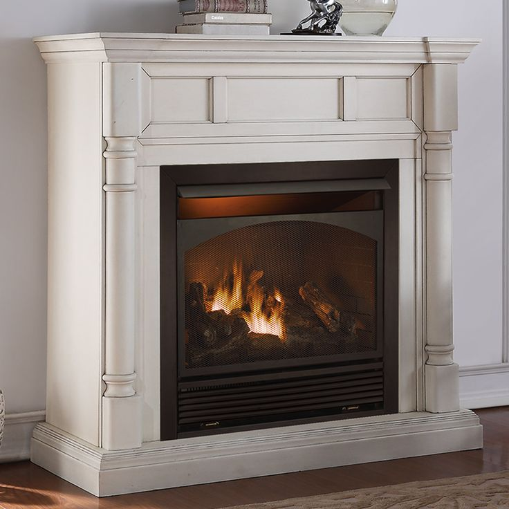 Full Size Dual Fuel Ventless Natural Gas / Propane Fireplace