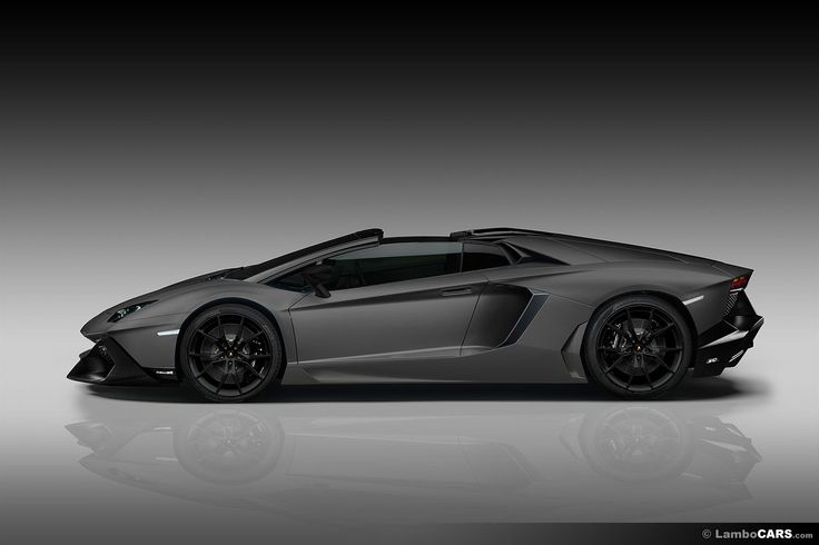 aventador roadster matte black. side view of a matte grey lamborghini aventador lp7204 roadster 50th anniversary edition sports cars pinterest and black e