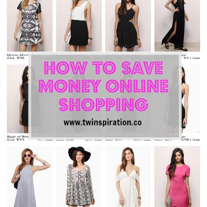 How to Save Money Online Shopping by Twinspiration: http://twinspiration.co/how-to-save-money-online-shopping/