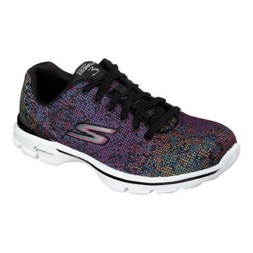 Womens Skechers GOwalk 3 Digitize Up Multi