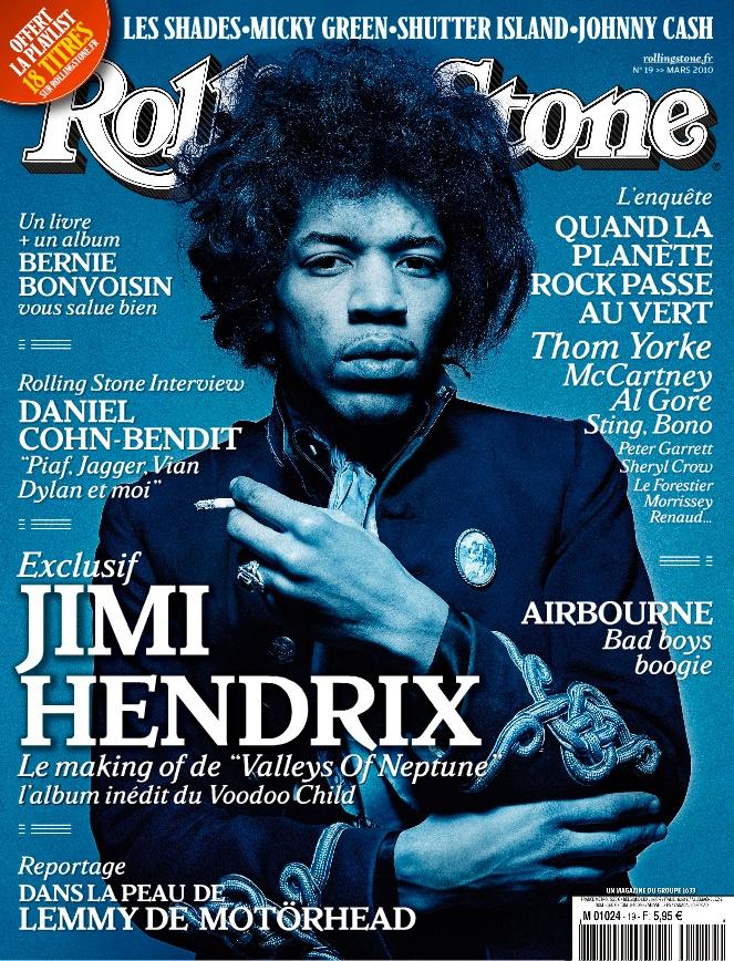 Rolling Stone - Jimi Hendrix# graphic design inspiration#monochromatic#myartinstitute