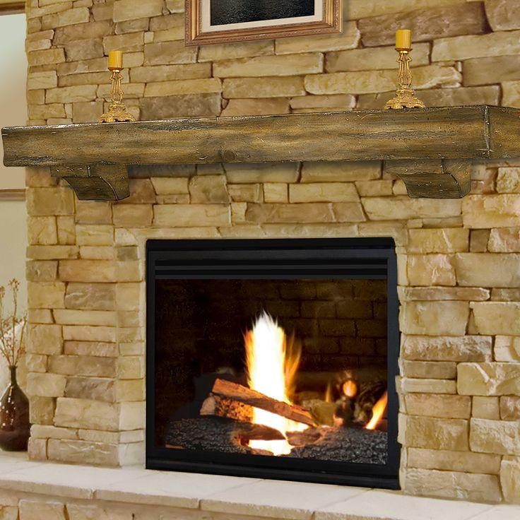 Pearl Mantels Shenandoah Fireplace Mantel Shelf & Reviews   Wayfair