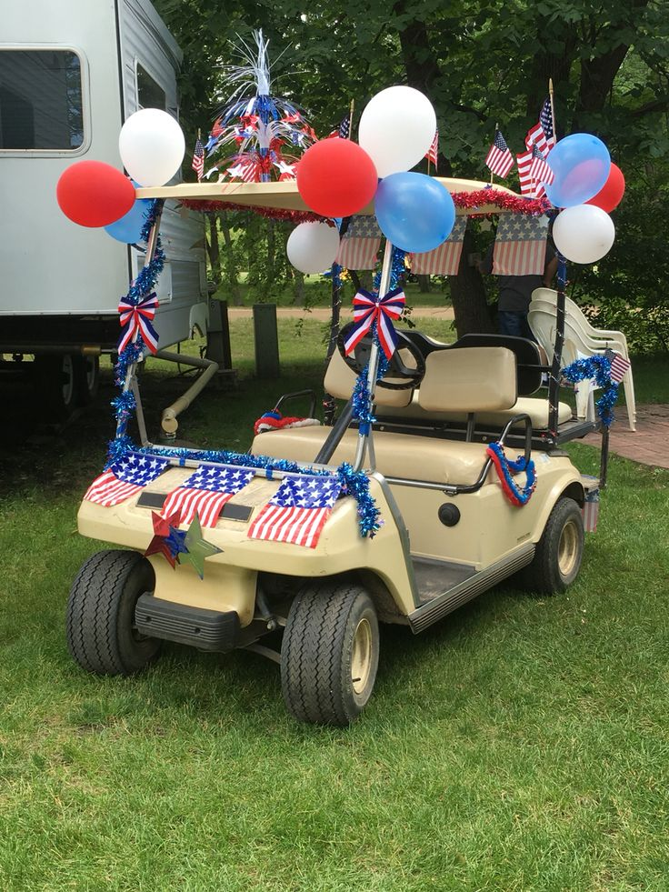 15 best 4th of July themed golf carts images on Pinterest ...