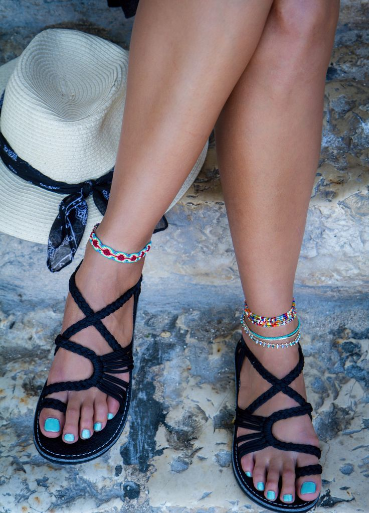 Whether you're going to a friend's wedding or for a long walk on the beach, the Plaka Flat Rope Sandals is a MUST have item.