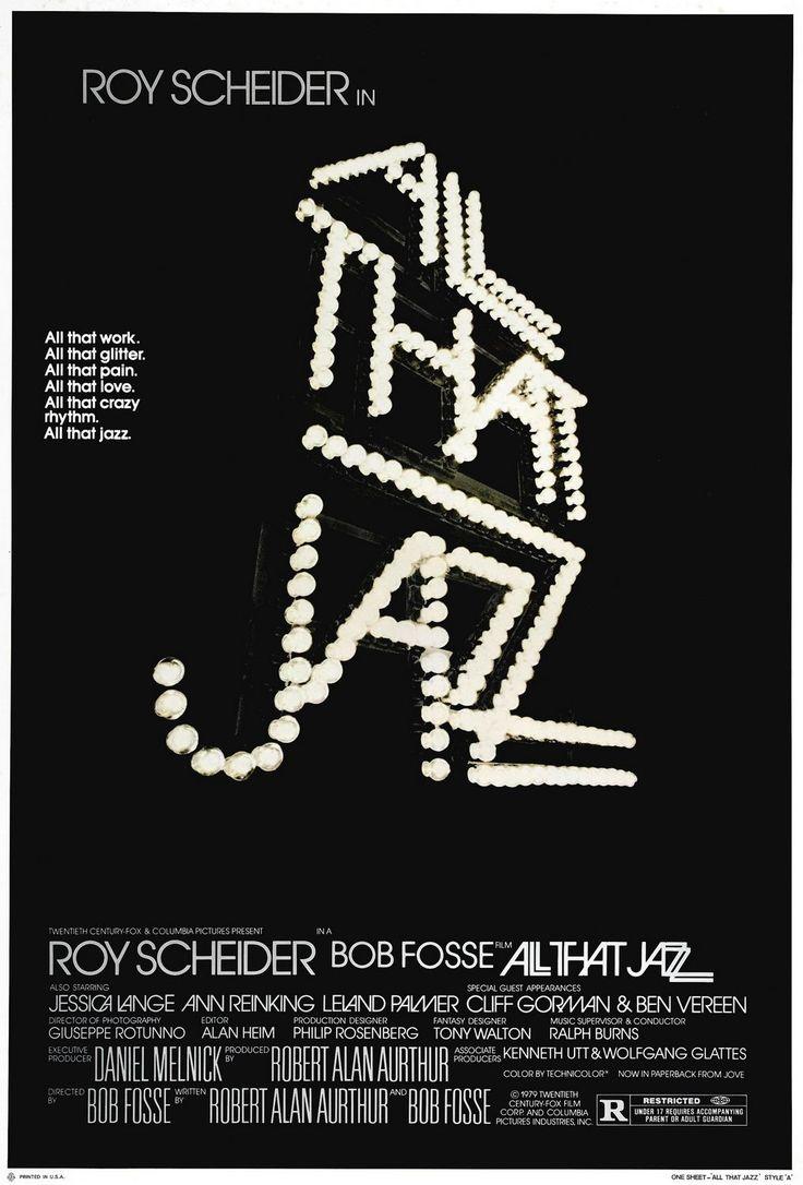 """""""All That Jazz"""" (1979) starring Roy Scheider & Jessica Lange on Antenna TV -- 1/16/2013 (Wed) at 3a ET, 1/18/2013 (Fri) at 9a ET & 1/19/2013 (Sat) at 3a ET."""