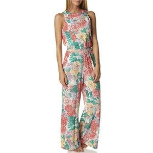 New Womens Zulu And Zephyr Flowerbomb Palazzo Pantsuit