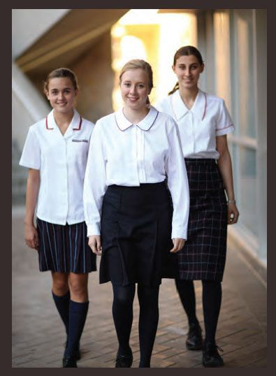#School_uniform skirts ~~~~ Range of fabric compositions in poly/cotton, poly/viscose and wool blends to suit ~ Variety of pleats: knife, box and inverted ~ Shaped bands designed to flatter ~ Elastic or flexi waists for ease of fit ~ We can give your school a unique image by customising your school colours into an individual stripe or plaid design
