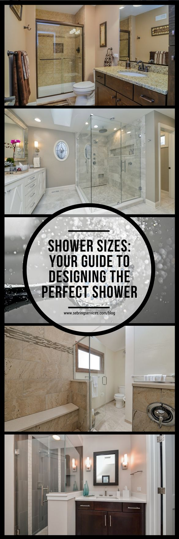 If you are remodeling or building a new bathroom, you are most likely considering installing a standard size shower. There are many shower sizes to consider. New showers are not something you shop for everyday; in fact, this might be the only time that you ever build one. Showers differ by construction, size, materials used and configuration. If you are working with a generous budget, then the world of options is open to you.