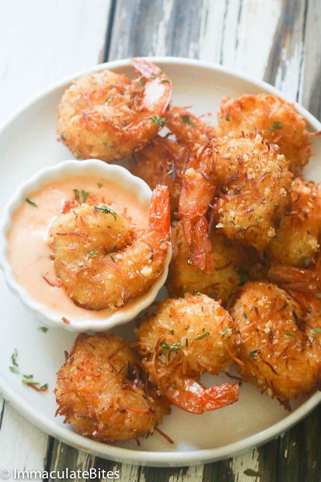 Coconut Shrimp from @africanbites