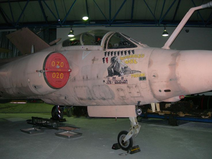 Hawker Siddeley Buccaneer S2B - XW547. RAF Museum Hendon.  August 2006.
