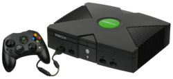 "Microsoft Xbox (2001) console with ""Controller S"" - The console that brought online gaming to the masses. Overshadowed by the PS2 but awesome nonetheless."