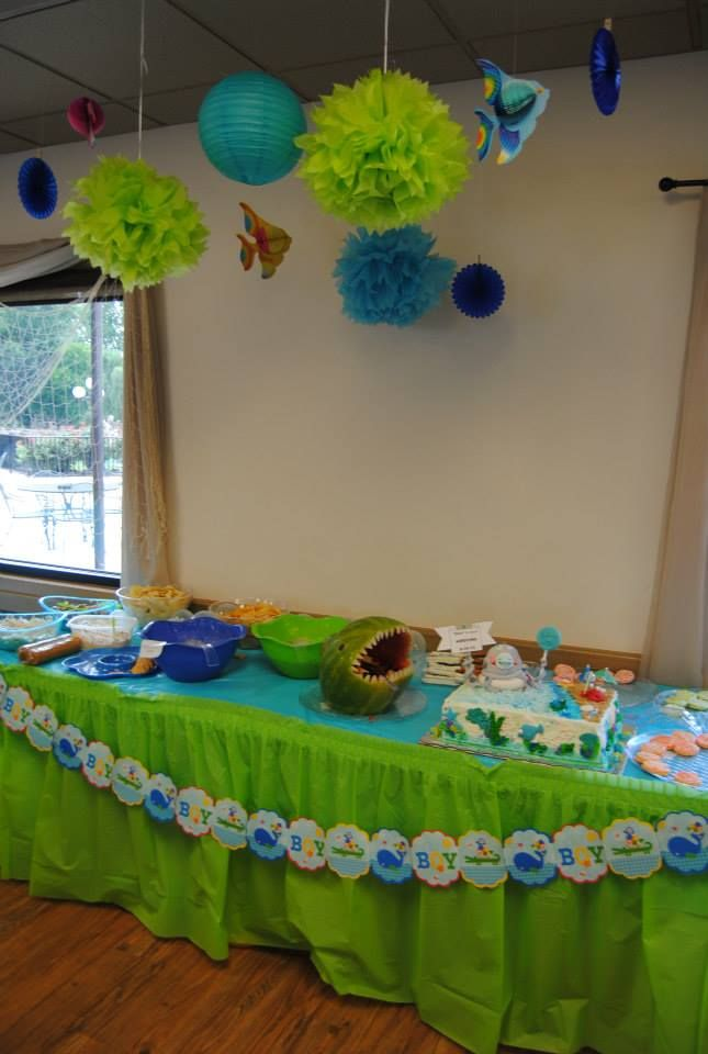 52 Best Under The Sea Baby Shower Images On Pinterest Sea Baby
