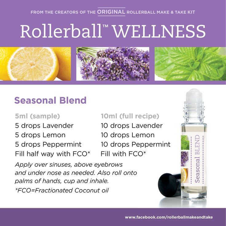 Seasonal Blend Rollerball Blends Pinterest Doterra