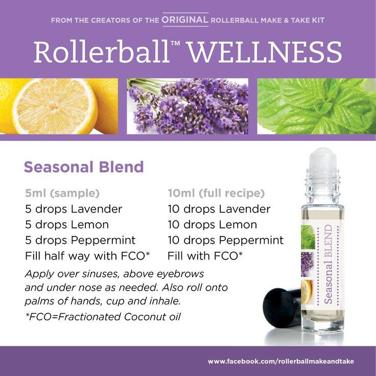 Seasonal Blend Rollerball Blends Doterra Essential