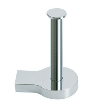 Singulier® Vertical Toilet Tissue Holder    Features:    Premium metal construction for durability and reliability  KOHLER finishes resist corrosion and tarnishing  Tools and drilling template included for easy installation  Solid brass construction  No visible fixings  Coordinates with Singulier tapware