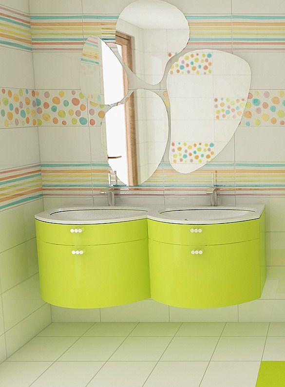 408 best toilet kindergarden images on pinterest | children ... - Azulejos Bano Agatha Ruiz Dela Prada
