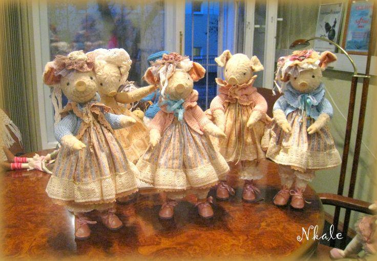 NKALE :-) В каждой игрушке сердце: Дразнилки-похвастушки, Как мы шили Хрюшевну