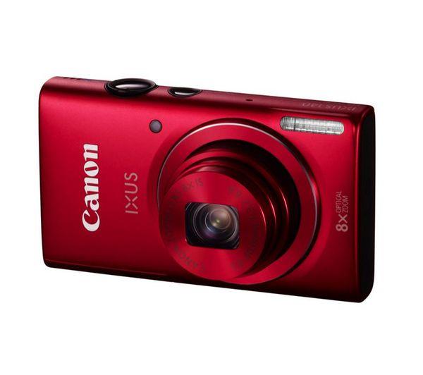IXUS 140 Advanced Compact Digital Camera - Red