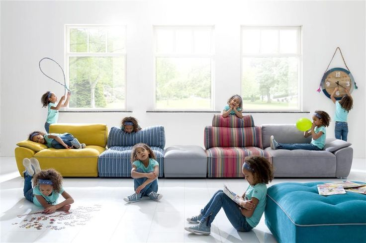 Udine couch, choose the elements you want, in the colour you want, so design your own couch!