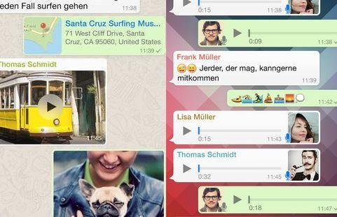 WhatsApp für iOS: Ab sofort mit verschlüsselter Video-Telefonie - https://apfeleimer.de/2016/11/whatsapp-fuer-ios-ab-sofort-mit-verschluesselter-video-telefonie - WhatsApp erweitert seine Kurznachrichten-App um ein sinnvolles neues Feature. Genau wie mit FaceTime könnt Ihr ab sofort auch mit WhatsApp verschlüsselte Videoanrufe für Eure Kommunikation verwenden. Das Feature wird auf allen verfügbaren Plattformen wie Android, iOS und Windows Phone ausgerollt ...
