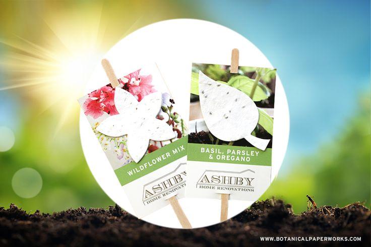 5 Plantable Promotional Products For Summer Gardening Giveaways | Blog | Botanical PaperWorks