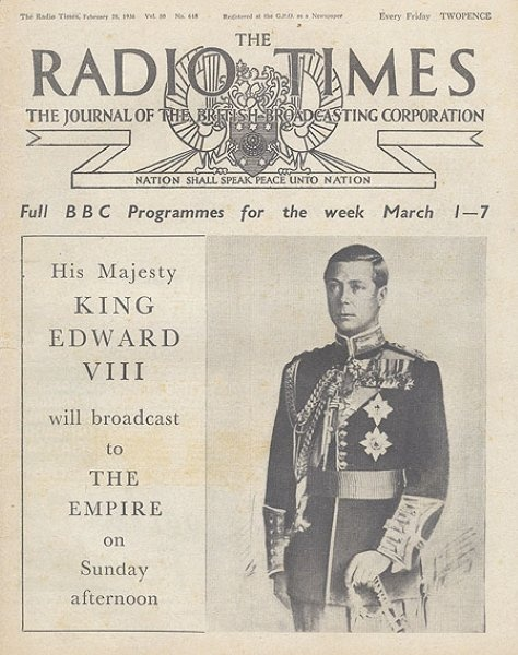 Photo gallery: royal covers of Radio Times | Radio Times