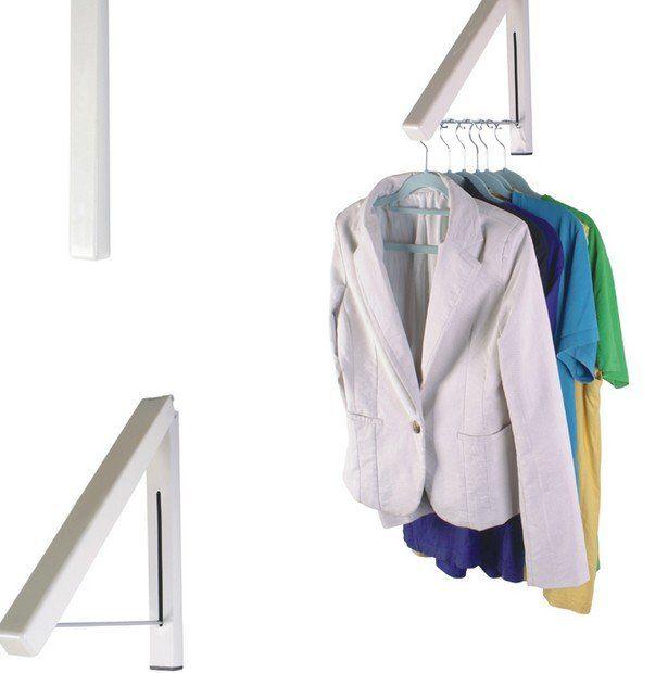 gratis verzending vouwen de onzichtbare muur opknoping indoor balkon intrekbare droogrekken sub handdoekenrek in van op Aliexpress.com