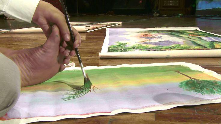 Painting with my left toe: Uttam Kumar Bharadwaj at TEDxTughlaqRd