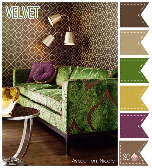 Velvet Color Palette - Inspire Sweetness http://inspiresweetness.blogspot.com/2013/10/velvet-color-palette.html