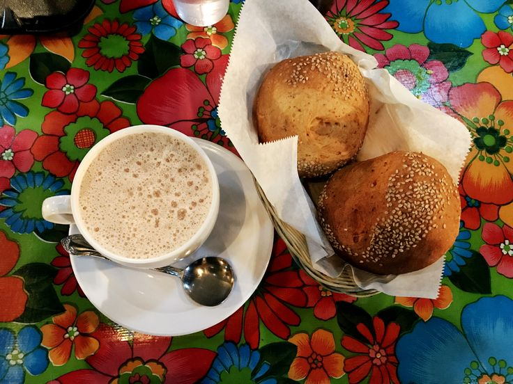 You must try the Mexican hot chocolate con pan dulce @ Guelaguetza in LA.