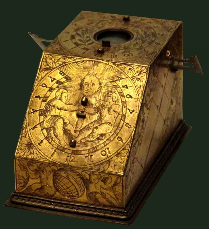 Solar clock, Italy, 17th century. History of Science Museum (Museo Galileo).