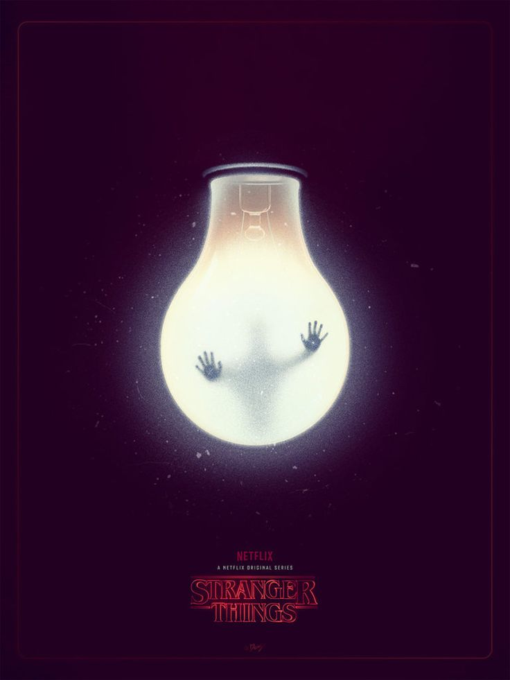 Stranger Things poster by Doaly for Poster Posse
