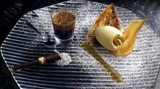 """Vietato fumarlo"" del Ristorante Caino di Montemerano (GR)  #lamadia #lamadiatravelfood #food"