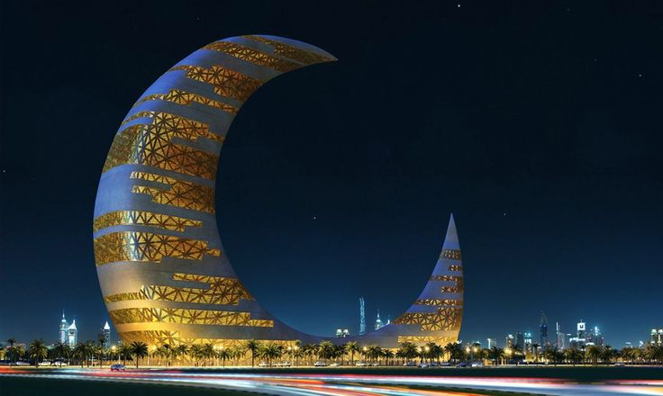 Crescent Moon Tower: A jóia da arquitetura de Dubai