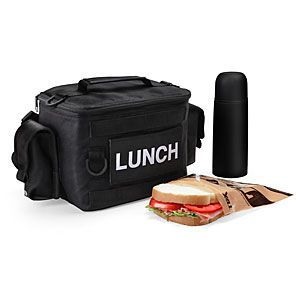 If you'll be taking your lunch into extreme conditions like outdoor adventures, war, or the zombie apocalypse, the Tactical Lunch Kit is your bag.