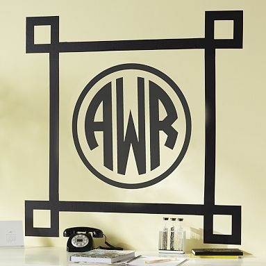 Classic Corners Wall Decal #pbteen