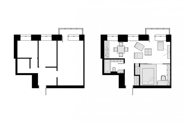 The second design we re featuring comes in at 40 square 90 square meters to square feet
